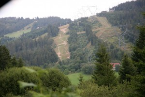 Lac Blanc descente VTT